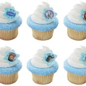 72-Disney-Frozen-Adventure-Friends-Rings-Designer-CakeCupcake-Topper-New-0