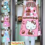 Authentic-Sanrio-Hello-Kitty-Kitchen-Gardening-Cotton-Apron-Princess-0-3