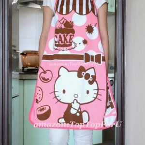 Authentic-Sanrio-Hello-Kitty-Kitchen-Gardening-Cotton-Apron-Princess-0