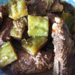 braised pork spare ribs