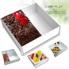 Cake-Pan-Baking-Sheet-Pan-Bakeware-Set-Multi-size-DIYAluminium-12x12x4-Inches-0