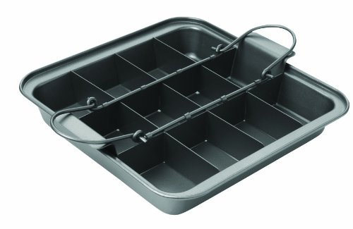 Chicago Metallic Slice Solutions Brownie Pan 9 Inch By 9