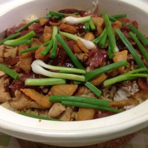 chicken claypot rice