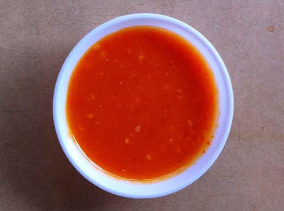 Chicken rice chilli