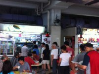 da zhong coffee and tea long queue