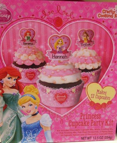 Disney Princess Cupcake Party Kit Foodclappers
