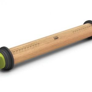 Joseph-Joseph-Adjustable-Rolling-Pin-Plus-165-Inch-Grey-0