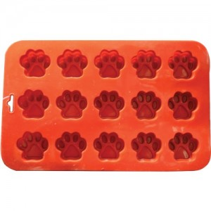 K9-Cakery-Mini-Paw-Silicone-Cake-Pan-9-by-55-Inch-15-Cavity-0