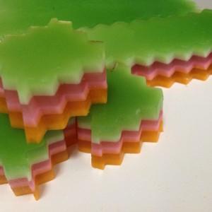 layered agar agar