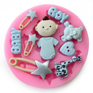 Longzang-F0485-Baby-Shower-Fondant-Mold-Silicone-Sugar-Craft-Molds-Mini-0
