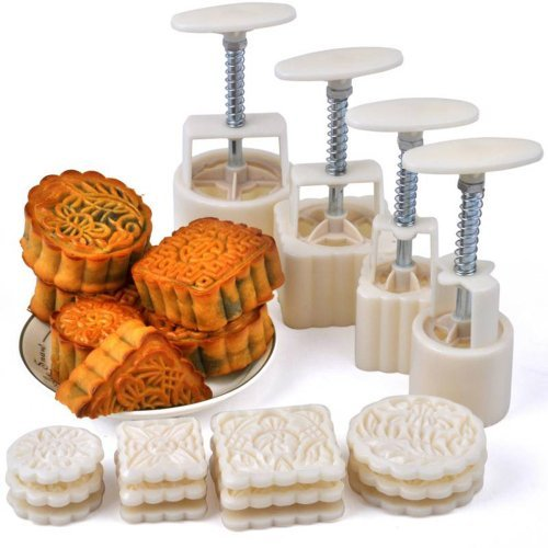Mid-Autumn-Festival-Hand-Pressure-Moon-Cake-Mould-With-12-Pcs-Mode-Pattern-For-4-Sets-0