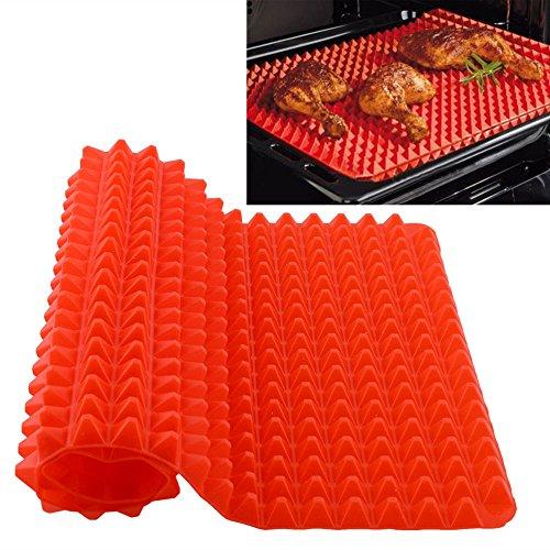 New Silicone Baking Mat Sheet Non Slip Pyramid Square