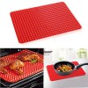 New-Silicone-Baking-Mat-Sheet-Non-slip-Pyramid-Square-DesignHealthy-Cooking-Mat-Professional-Heat-Resistant-Fat-reducing-11-x-155-0-1