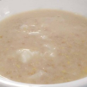 oat with condensed milk