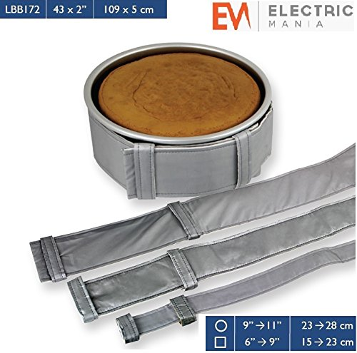 PME-Cake-Level-Baking-Cooking-Bands-Belt-Square-Round-Tin-Pan-43-x-2-Inch-0