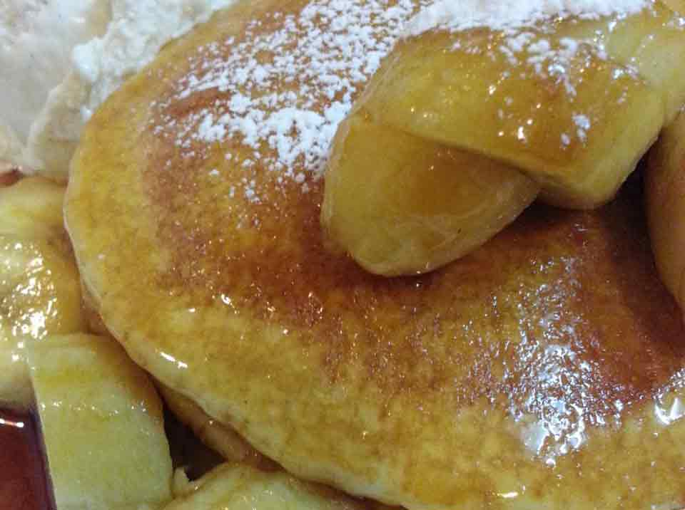 pancakes banana scotched