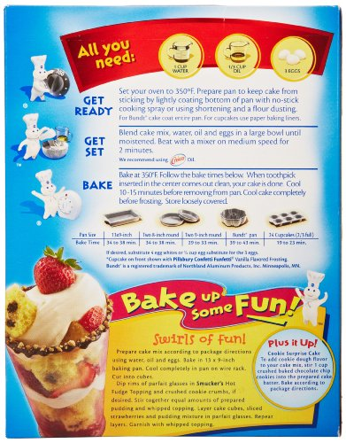 Recipes For Pillsbury White Cake Mix