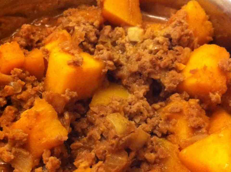 Pork pumpkin recipe