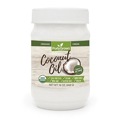 Purly-Grown-Organic-Cold-Pressed-Coconut-Oil-Extra-Virgin-or-Refined-16-oz-Coconut-Oils-For-Healthy-Cooking-Beauty-Skin-Care-Hair-Care-Extra-Virgin-0