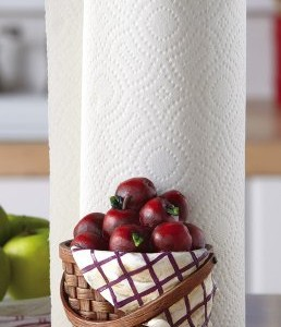 Red-Apple-Kitchen-Paper-Towel-Holder-0