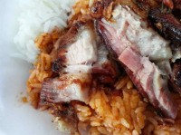 roast meat rice ubi