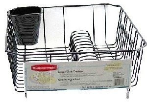 Rubbermaid-Antimicrobial-Large-Dish-Drainer-Black-0