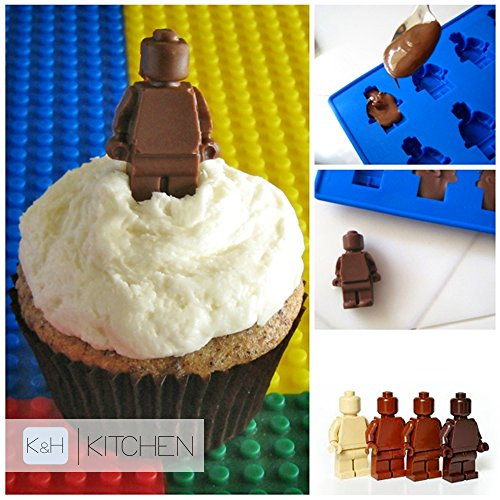 Silicone Trays – Make Lego, Duplo, Minifigures Ice Cubes and ...