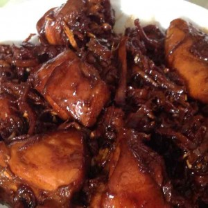 sesame chicken with wincarnis
