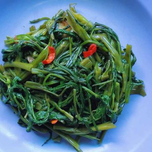 stir fry kang kong recipe