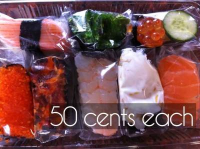 sushi takeaway woodland