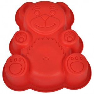 Teddy-Bear-Silicone-Cake-Mold-Pan-7-14-x-6-14-x-1-12-deep-0
