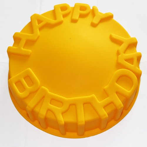 X-Haibei-7inch-Happy-Birthday-Cake-Mold-Pan-Chocolate-Pizza-Baking-Tray-Silicone-Mould-0