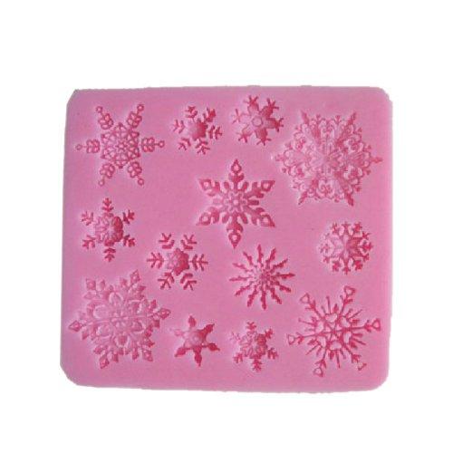Cake Decorating Sugar Snowflakes