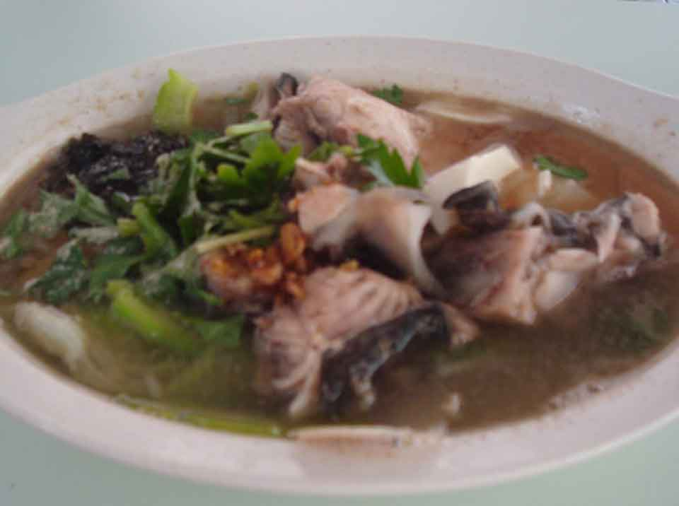 Fish head soup ang mo kio foodclappers for Fish head soup