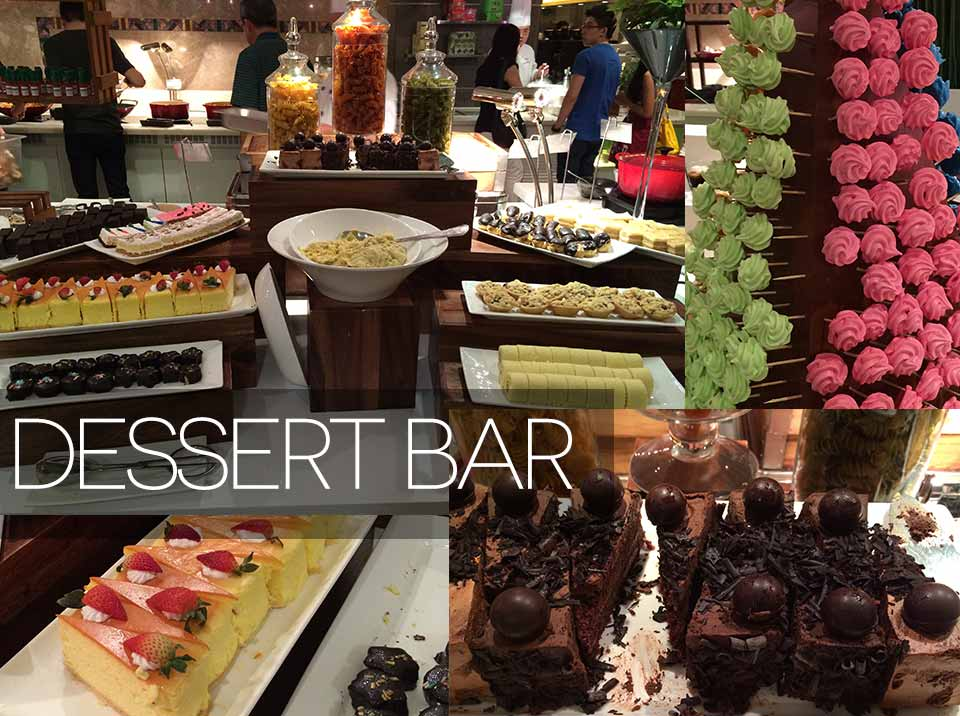 Dessert Bar - ParkRoyal Hotel