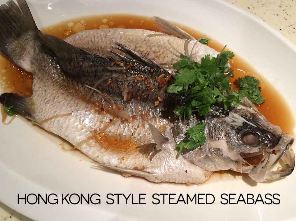 HK style steamed seabass