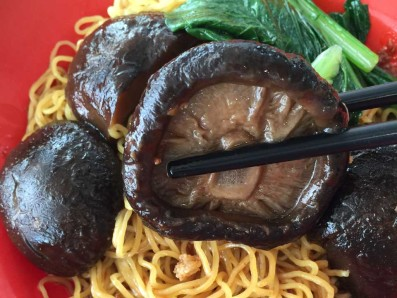 Shiitake Mushrooms Noodle - Blk 538 Bedok North Food Centre
